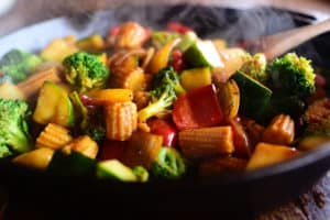 Chinese Style Stir Fry Vegetables