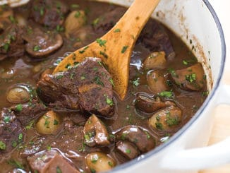 Beef Burgundy Style Stew Recipe