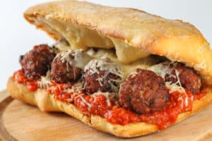 My Meatball Sub Sandwich Recipe